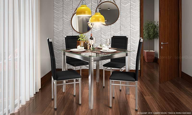 Sala de jantar com espelho uma dupla perfeita na decoraç u00e3oViviana Reis -> Decoração De Sala De Jantar Com Espelho Redondo